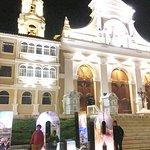 Plaza de loja en la noche