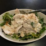 Chicken Salad with Coconut dressing