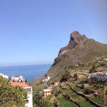 Vues superbes sur le sentier qui part de Benijo et mène à El Draguilio.