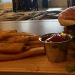 Delicious 1606 burger. Highly recommended!!