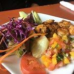 Camarones (Shrimp) a la Plancha.