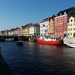Nyhavn, just around the corner from the hotel
