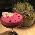 Amazing cocktail - rabarbaro