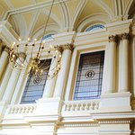 The beautiful architecture inside the Grand Hotel Eastbourne