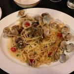 Linguini con vongole (Linguini and clams)