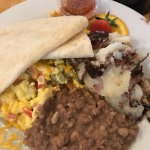 Migas at Sunflower Cafe