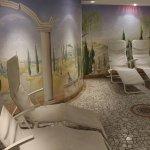 Ruheraum bei Sauna und Whirlpool