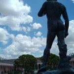 Ringling Art Museum, Gardens and sign out front