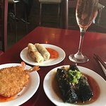 dinner at Luc Lac $12