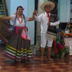 folk performance at the Hotel Monte Alban