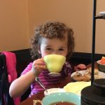 Granddaughter's first tea party