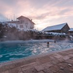 Snomads Chalet Levente Geothermal Pool
