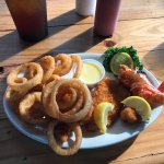Fish, Shrimp, & Onion Rings