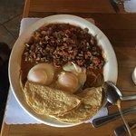 eggs and machaca