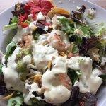 Lunch southwestern salad