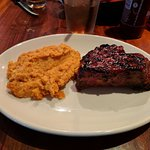 10 oz. Tri-tip and sweet potato mash