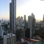 Panorama from room. Very fun and special.