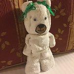 Cute towel bear