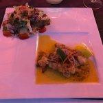 Half lobster, delicious spices!