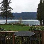 Alpine lake that's only at around 250' elevation. Astonishing!