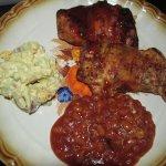 Smokin' Friday's BBQ Chicken Box