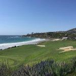 Golf ocean view