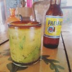 Passion fruit mojito. DELICIOUS.