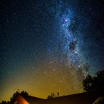 Taken at 3am by one of our guests from Beijing, the Starry Starry Night above Amberfields
