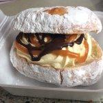 Best salted caramel doughnut ever!