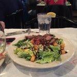 Caesar Salad with Sliced Sirloin