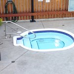 hot tub near pool at Bowmont