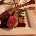 Rack of Colorado Lamb with Rosemary Panko Crust and Raspberry Demiglace