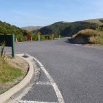 New access to Carpark at Nugget Point Lighthouse - Apr 2017