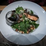 Salmon Salad. Great dressing.