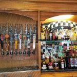 Craft Beers on tap and a well stocked bar at Connie's Pub.
