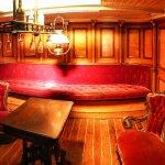 Captain's parlor below deck