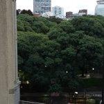 vista desde el otro ventanal de la habitación 588