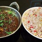 Kashmiri Polaw & Chicken Butter Masalla