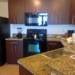 Granite counters, new appliances