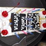 Birthday Cake for wonderfully friend .