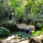 Photo de El Nicho Waterfalls