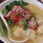 Duck Noodles and Wonton