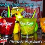Refrescantes y Deliciosas, así son nuestras CAIPIRINHAS con TUNA.     Elige tu color preferido !