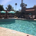This pool is not their main one but we enjoyed its proximity and privacy to our room.