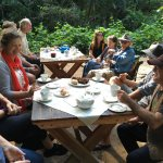 Tea and cake after a Paradise Kuranda Guided Rainforest Walk.