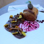 "Our beet ""Wellington"" dish."