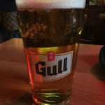 Pint of Gull beer