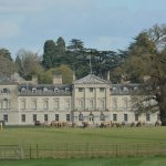 Woburn Abbey taken from OUTSIDE grounds