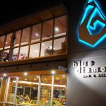 Blue Diamond Bar & Bistro signage at the front of the Restaurant