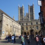 Lincoln is a lovely hostorical city